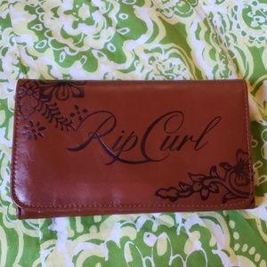 Rip curl Sira Batik vegan leather wallet